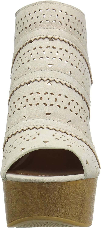 Qupid Womens Wedge Sandal