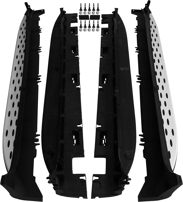 Trittbretter Schweller Set Satz Für Glc X253 C253 Bj 15 Aluminium Auto