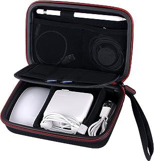 Smatree Harte Tasche für Apple Pencil, Magic Mouse,Magsafe Power Adapter, Magnetic Lade Kable,Lightning auf USB Kamera-Adapter und andere kleine Zubehör
