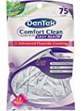 Comfort Clean Back Teeth Floss Picks 75-Count