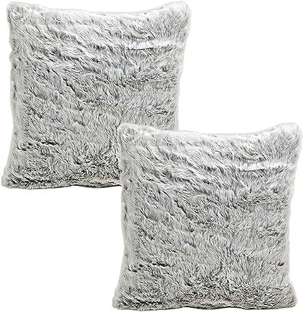 Funda de almohada Shaggy 1 40 cm x 40 cm funda de almohada