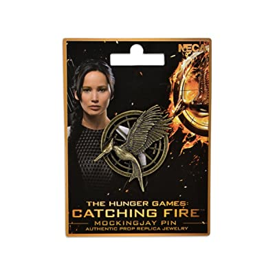 NECA The Hunger Games: Catching Fire Mockingjay Pin Prop Replica: Toys & Games