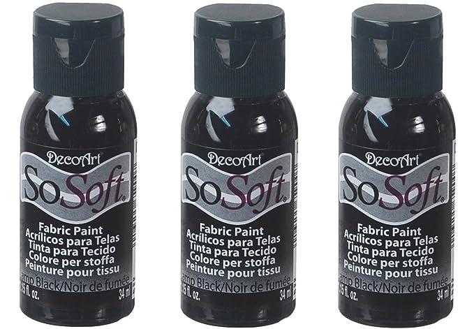 amazon com decoart dss24 26 sosoft fabric acrylics paint 1 ounce