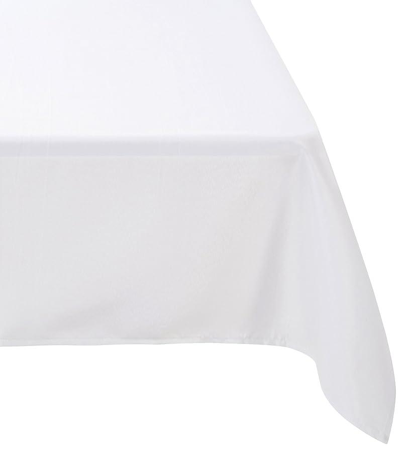 Douceur d'Intérieur Nappe Rectangulaire Polyester Uni Essentiel ...