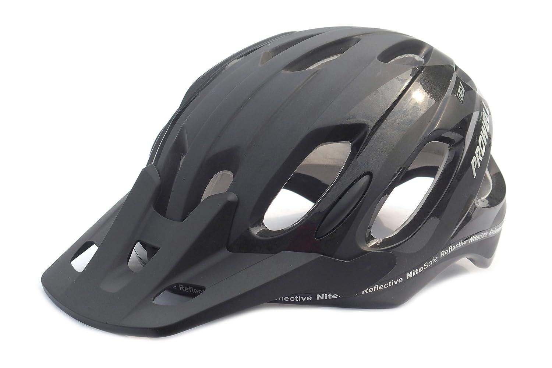 Prowell X9 - Casco de Ciclismo de montaña Negro Talla:M (56-62 cm ...