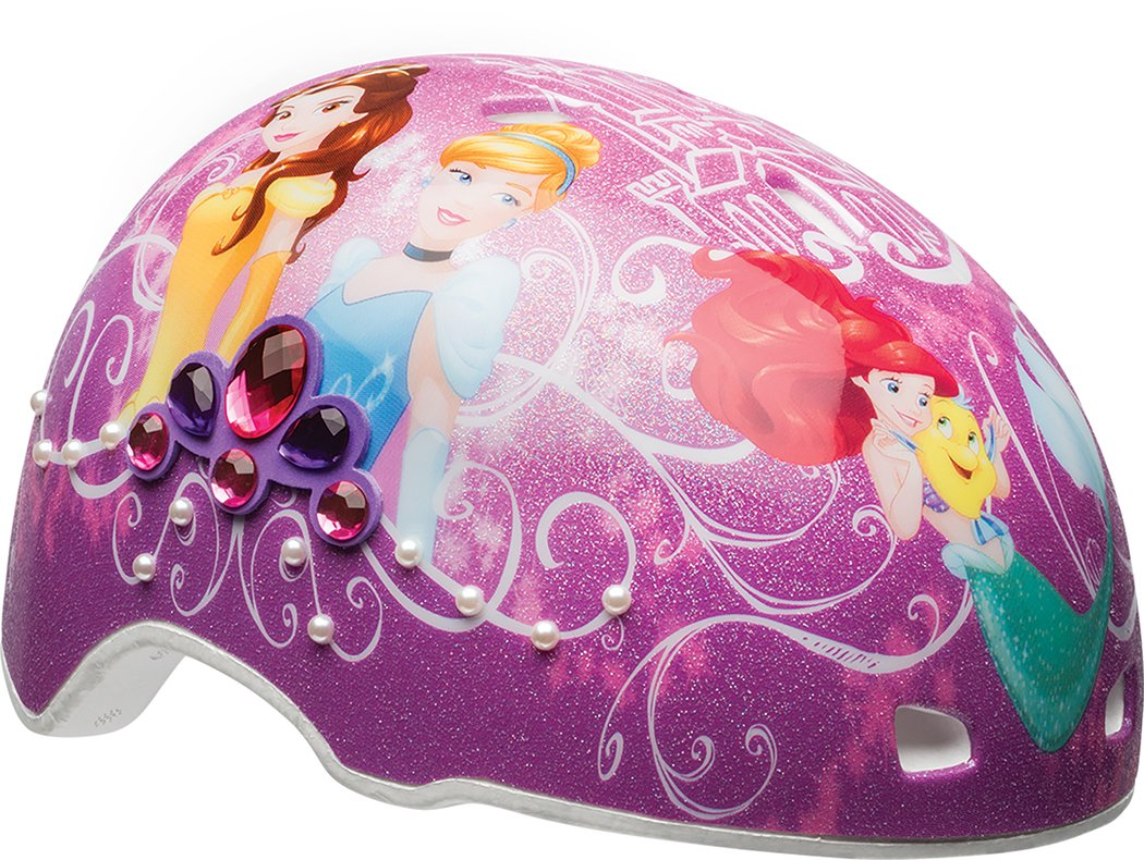BELL Kids' Princess Gems and Pearls Helmet, Multi Coloured, 50-54 cm 7082708