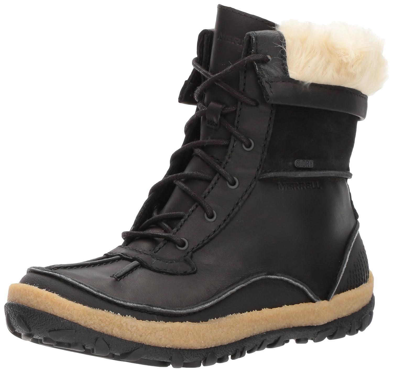 Merrell Women's Tremblant Mid Polar Waterproof Snow Boot B01NCMAYCH 5 B(M) US|Black