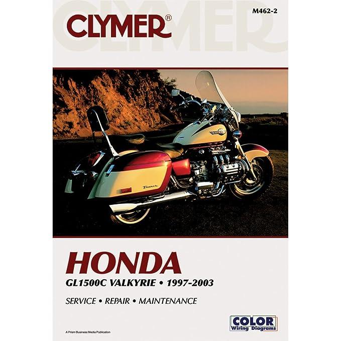 amazon com 99 00 honda gl1500cf clymer service manual misc rh amazon com Clymer Freeride Clymer Repair