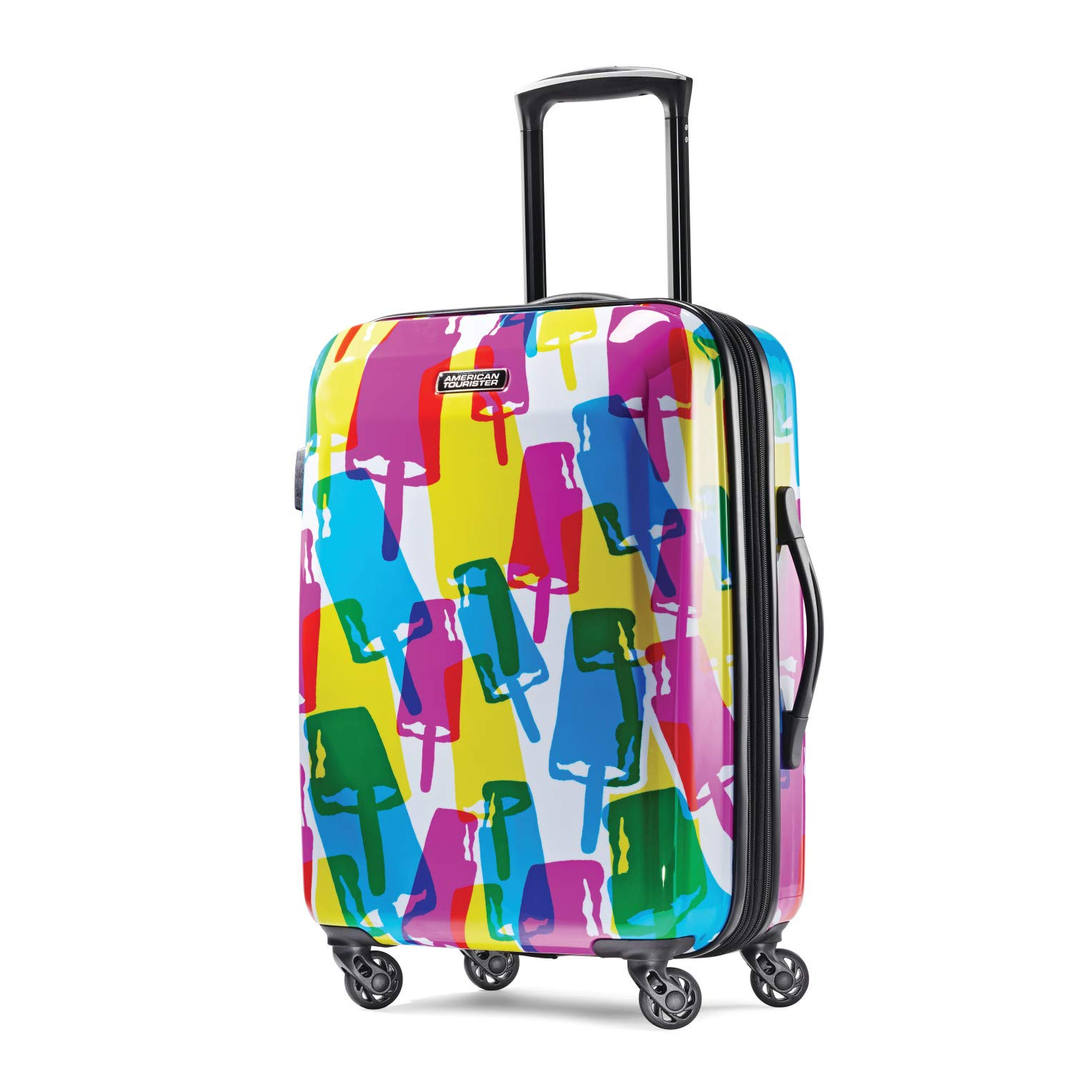 9355330f3a91 American Tourister Moonlight Expandable Hardside Luggage with Spinner Wheels