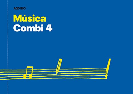 Additio Combi 4 – Cuaderno de música, color azul