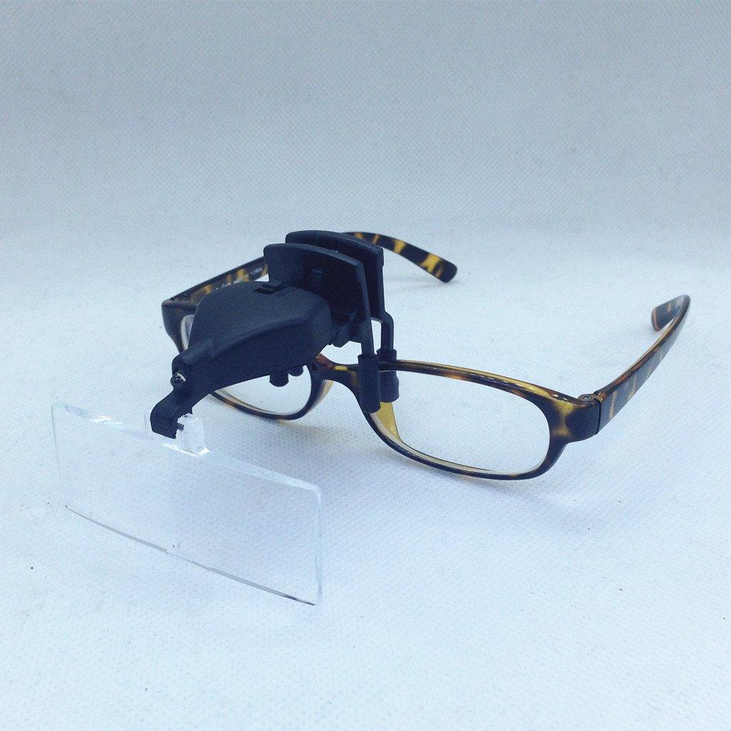 Multi Lente d`Ingrandimento per occhiali da vista labo clip 1.5X / 2.5X / 3.5X VSONE
