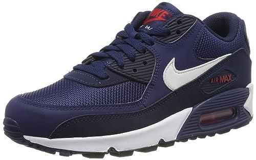 timeless design 04bdc ca950 Nike Air MAX 90 Essential, Zapatillas de Gimnasia para Hombre  Amazon.es   Zapatos y complementos