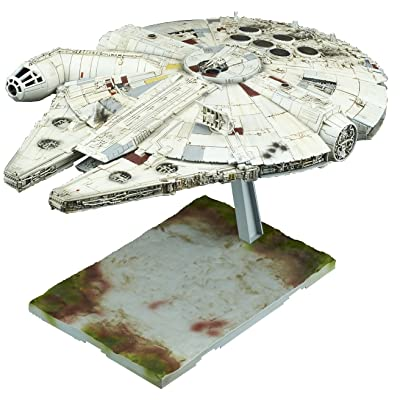 Bandai Hobby 1/144 Millennium Falcon Star Wars: The Last Jedi: Bandai Hobby Gunpla: Toys & Games