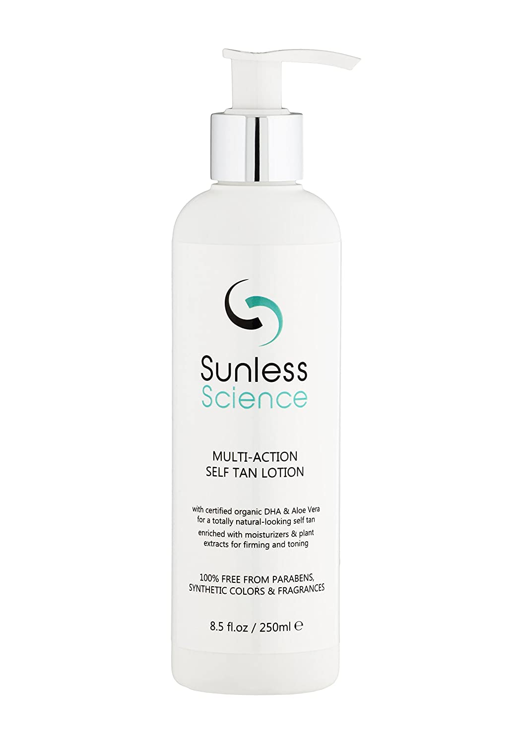 b6c80e98ab0 Sunless Science Multi-action Self Tan Lotion - Best-selling USA Organic  Natural Sunless Tanner Fragrance-Free Paraben-Free Non-Toxic Untinted Self  Tanning ...