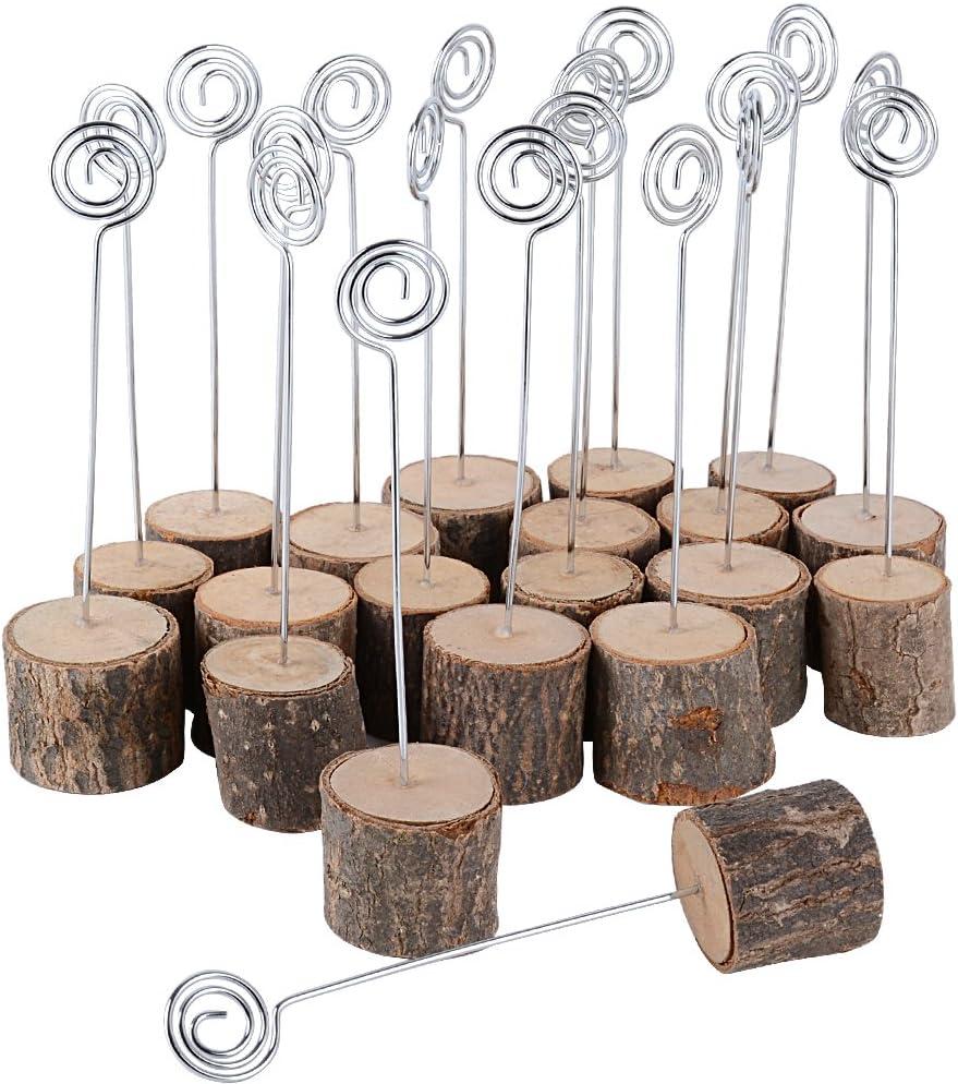 Toyvian Clip Fotohalter Hochzeitstafel Tischkartenhalter Tischnummernhalter Niedliches Harz Kaninchen Miniatur Ornament