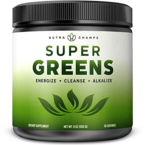 Amazon.com: Super Greens Superalimento en polvo – más de 20 ...