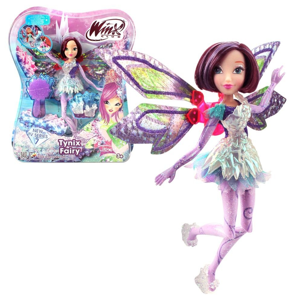 Winx Club - Tynix Fairy Puppe - Fee Tecna magisches Gewand: Amazon ...