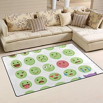 Elegant Ingbags Super Weich Moderner Emoticon Emoji Set, Ein Wohnzimmer Teppiche  Teppich Schlafzimmer Teppich Für