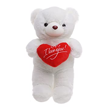 Regalo para Día de San Valentín – Osito de Peluche con Sensación de Felpa Suave –