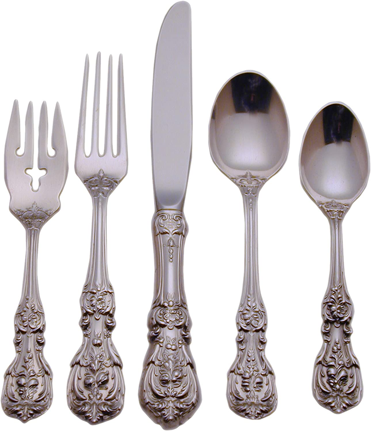 FRANCIS I REED /& BARTON STERLING LUNCH LUNCHEON FORK S