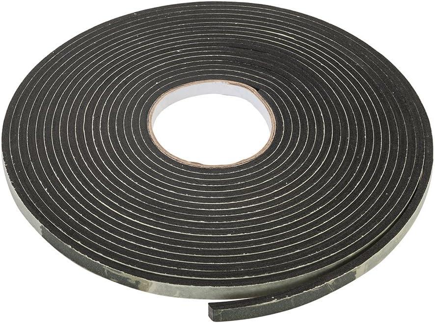 10x8mm 14x12mm 12x10mm Gummidichtung selbstklebend Schwarz in 5 Gr/össen zum ausw/ählen 8x6mm 8x6mm 9x8mm
