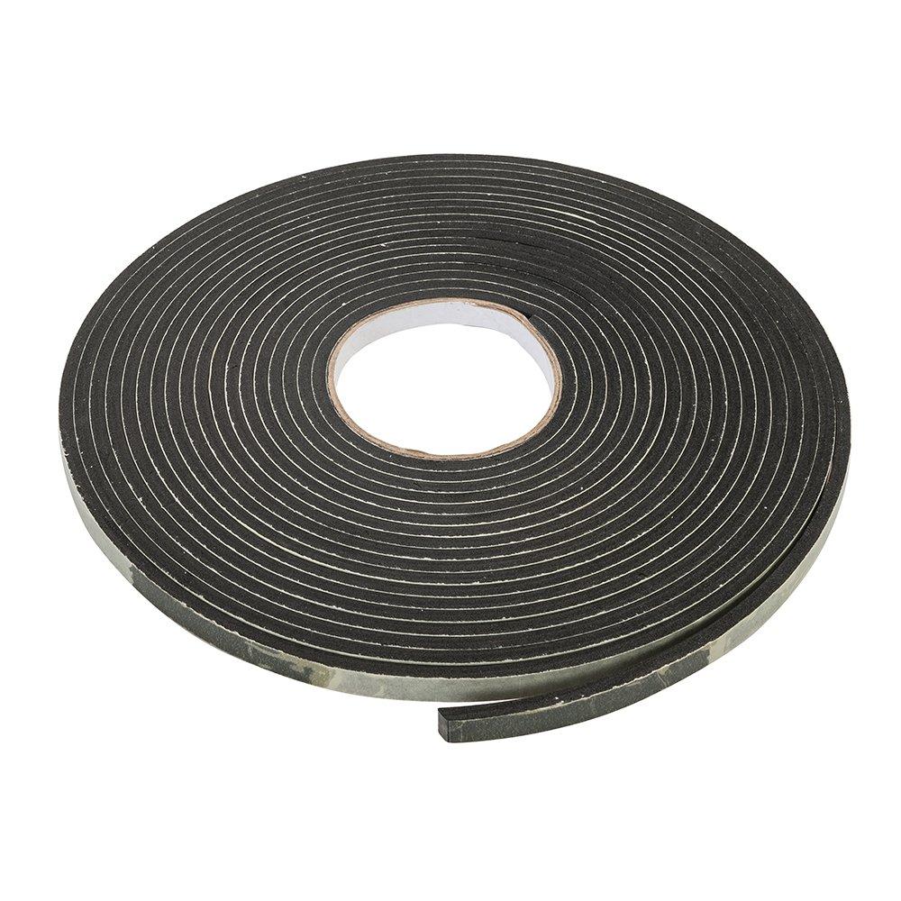 FIXMAN 294315 - Cinta adhesiva de sellado EVA (3-8 mm / 10,5 m, negro)
