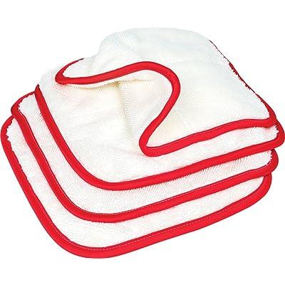 Griot's Garage 55525 PFM Dual Weave Wax Removal Towels (Set of 4): Automotive