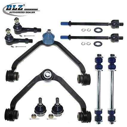 amazon com dlz 10 pcs front suspension kit 2 upper control arm 2 rh amazon com
