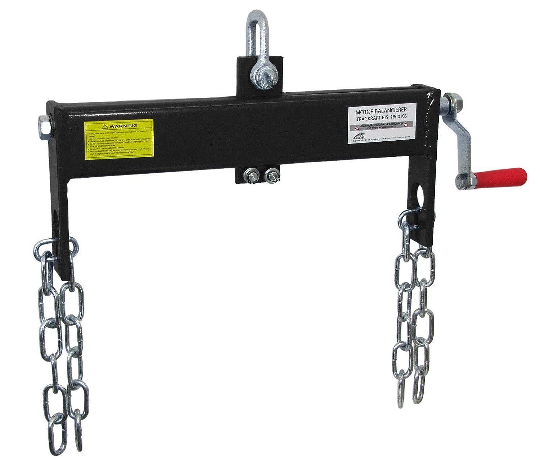 Carparts-Online 28799 Ramroxx Profi Motor Balancierer Positionierer bis 1800kg f/ür Hebekran schwarz
