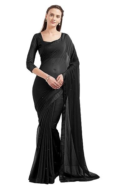 Amazon.com: Sourbh 5537 - Vestido indio de Georgette para ...