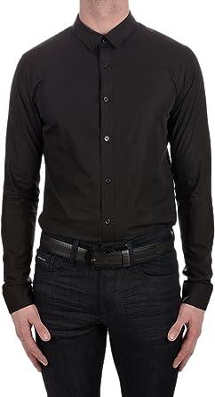 Calvin Klein Jeans - Camisa Manga Larga (M): Amazon.es: Ropa ...