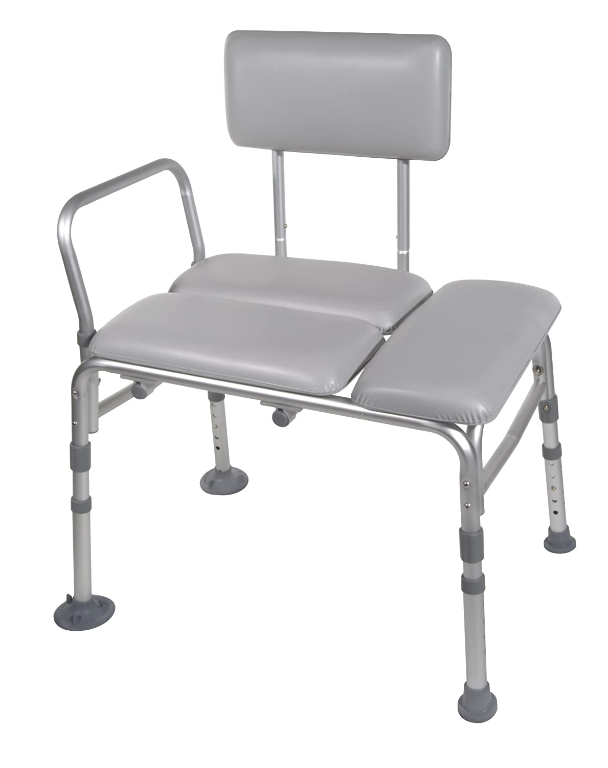 Amazon.com: Drive Medical Padded Seat Transfer Bench, Gray: Health ...