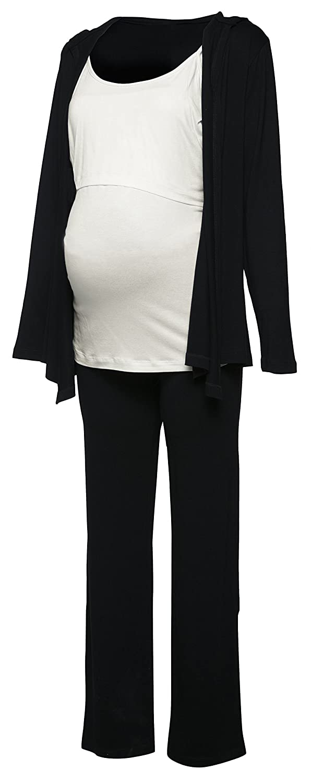 Happy Mama Women's Maternity Nursing Tracksuit Comprising Jacket. 688p pregnight_688