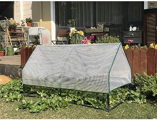 QEES Túnel de red de jardín (no incluye el marco), malla de polietileno antimariposas, protección de plantas y semillas, red para jardín y pájaros: Amazon.es: Jardín