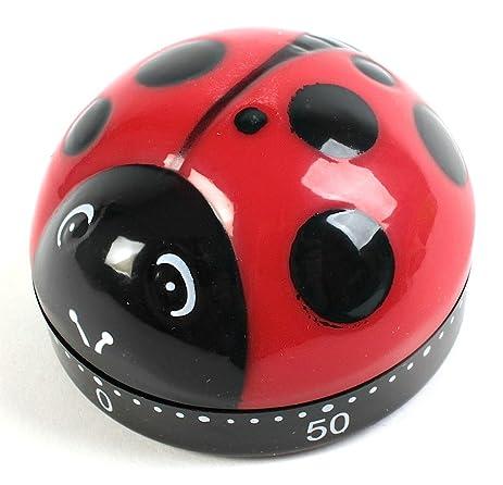 Kikkerland Ladybug Kitchen Timer (1)