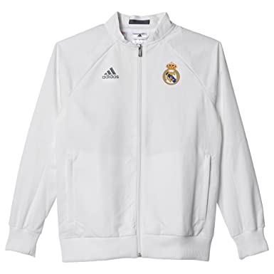 adidas Anthem Chaqueta Real Madrid Club de Futbol-KI, Unisex niños