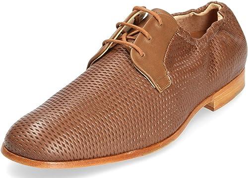 Neosens Hombre Llandoner Zapatos con Corbata Marrón 41 ...