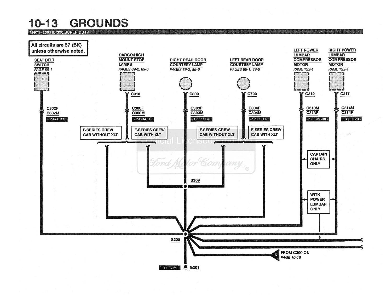Amazon.com: bishko automotive literature 1997 Ford F250 HD F350 F-Super  Duty Electrical Vacuum Troubleshooting Manual: Automotive