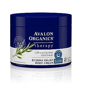 Avalon Organics Eczema Relief Body Cream, 10 oz.