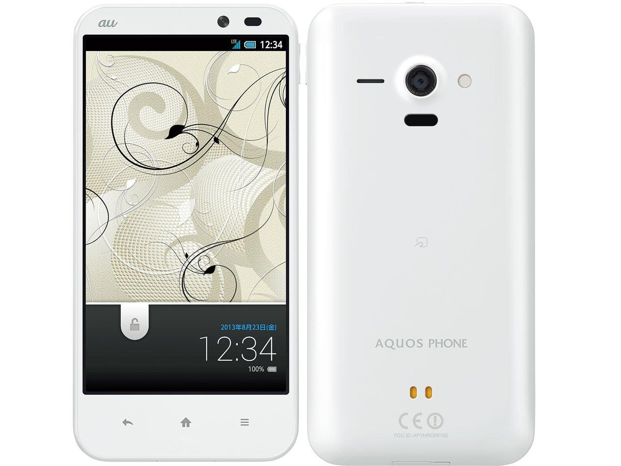 AQUOS PHONE SERIE SHL22(ホワイト)