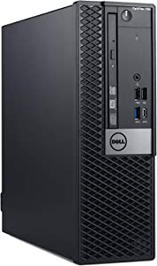 Dell OP7060SFFKHR7X OptiPlex 7060 SFF Desktop Computer with Intel Core i7-8700 3.2 GHz Hexa-core, 8GB RAM, 500GB HDD