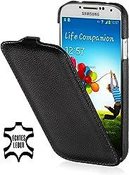 Esclusiva custodia UltraSlim in pelle Stilgut per Samsung Galaxy S4 i9500 e i9505 - nero
