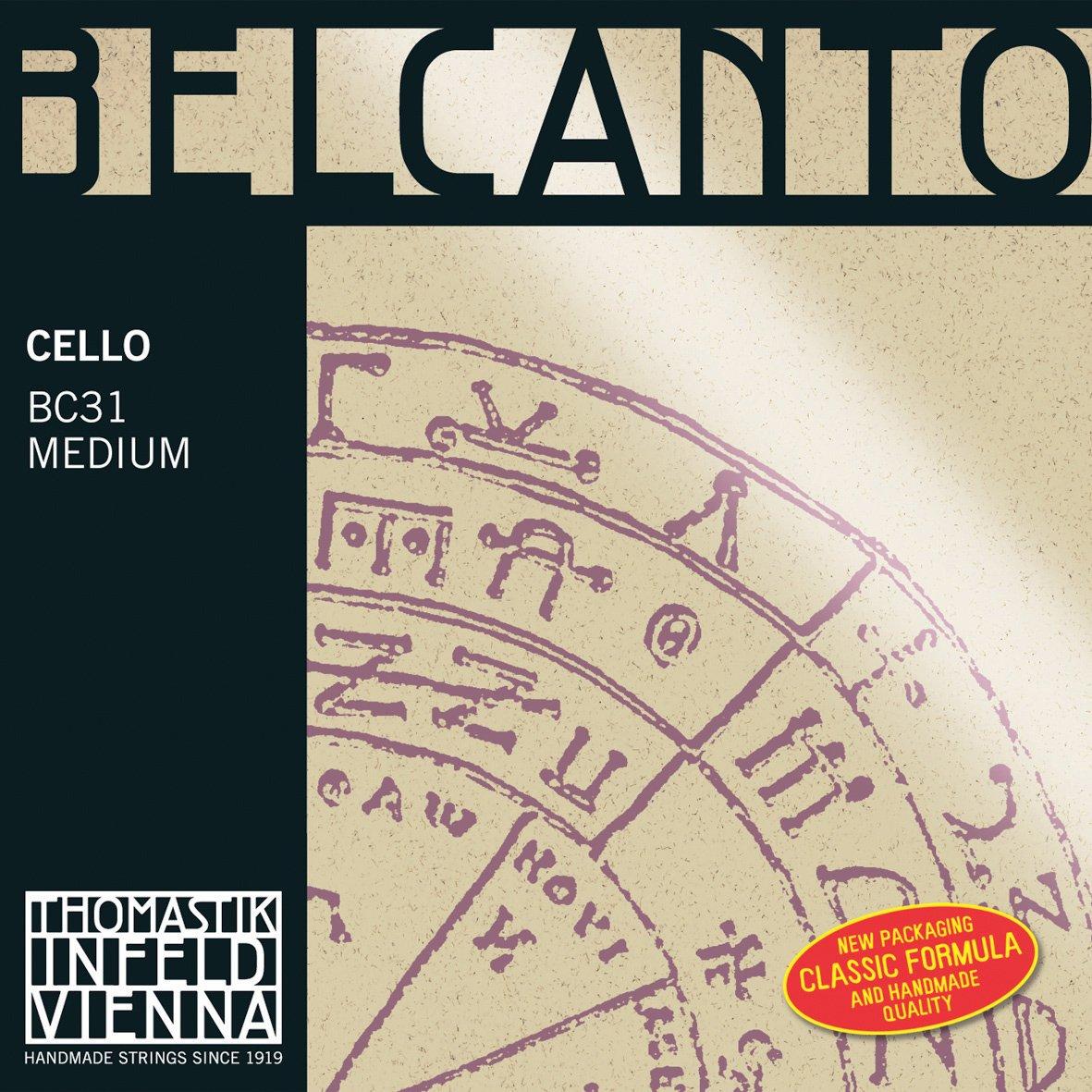 Belcanto ベルカント チェロ弦 C線 スパイラルコア 4/4 タングステン BC33   B0023LZNDS