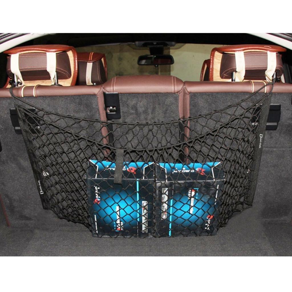 90 x 30cm KESOTO Universal Auto Kofferraumnetz Netz Gep/äcknetz Transportnetz Innenraumnetz f/ür alle Auto