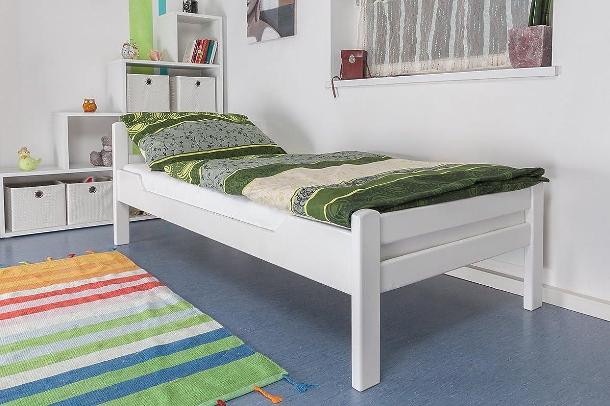 Einzelbett design  Einzelbett 90x200 weiß günstig online kaufen. Einzelbetten 90x200 cm ...
