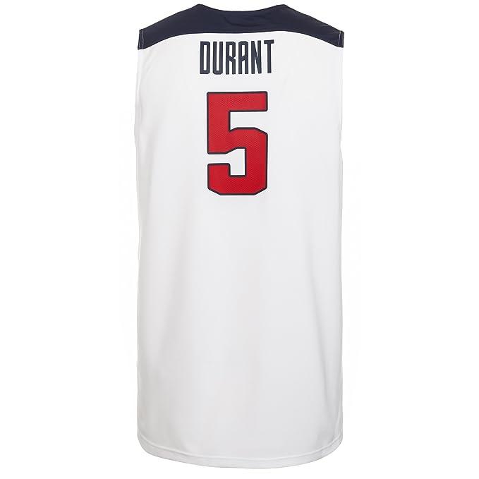 Nike Camiseta USA Basket 1ª -Durant- 2014-15: Amazon.es: Deportes ...