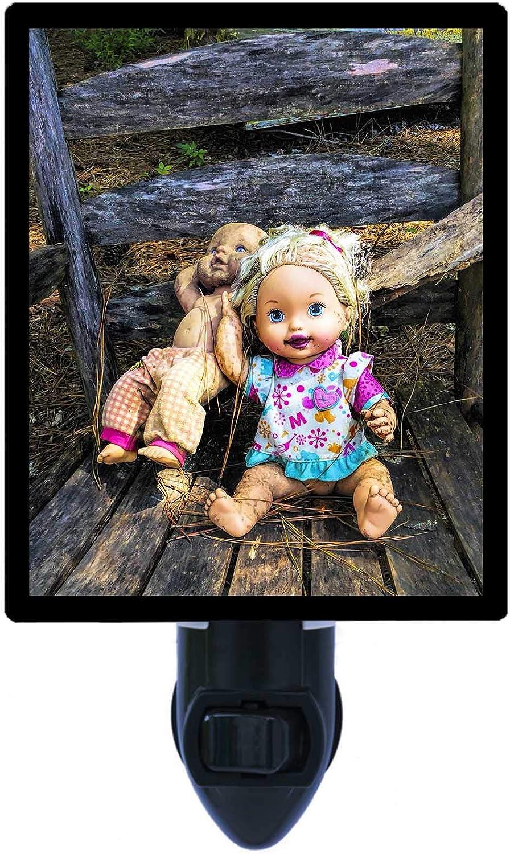designer lamp Lamp doll for example. night light