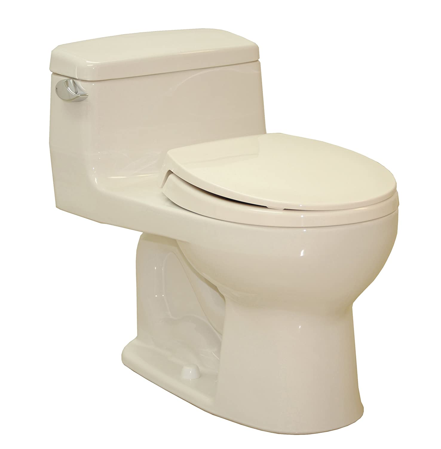 Supreme e Piece Elongated Toilet 1 28 GPF Sedona Beige with