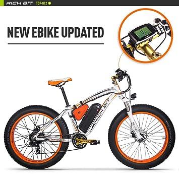 Eléctricas Bicicletas TP022 1000W Motor 48V 17Ah Batería de Litio-ion 7 niveles de Pedal