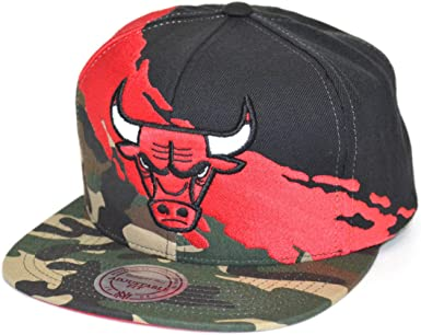Gorras Chicago Bulls Paintbrush Camo Snapback - Mitchell & Ness ...